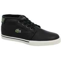 Tenisi & Adidasi Lacoste Ampthill Leather High Trainers Black