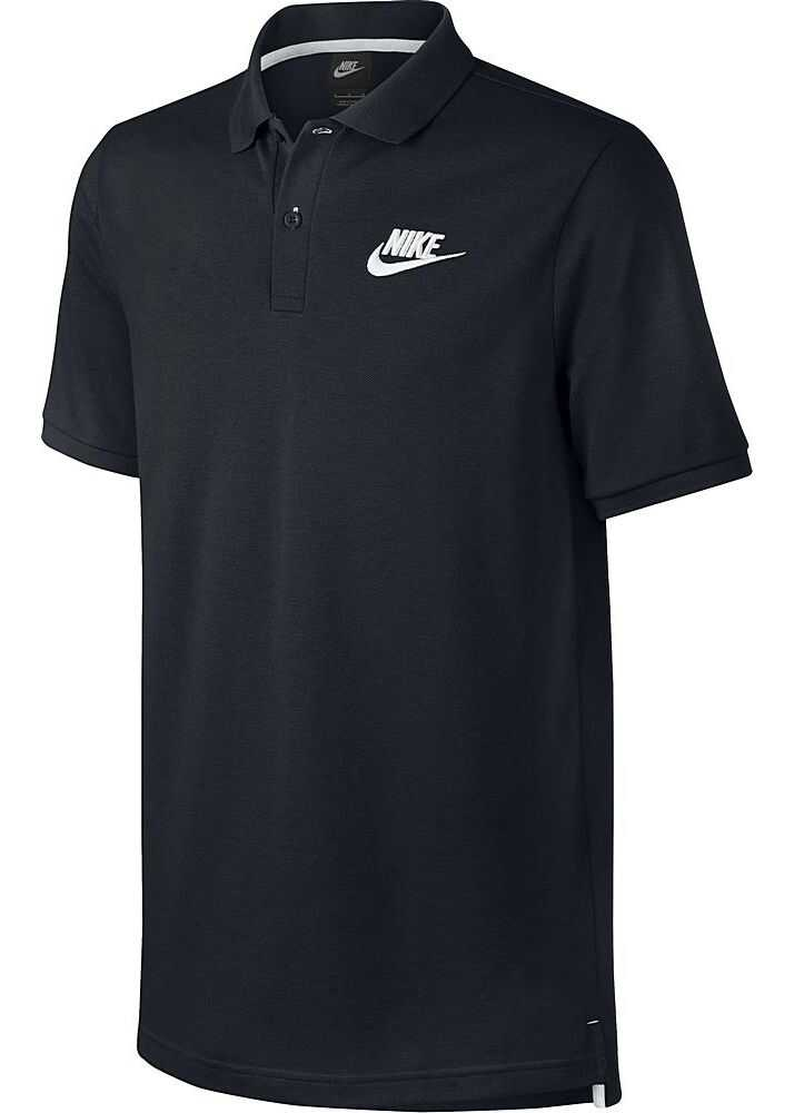 Tricou Barbati Nike Koszulka Polo Nsw Pq Match Bla
