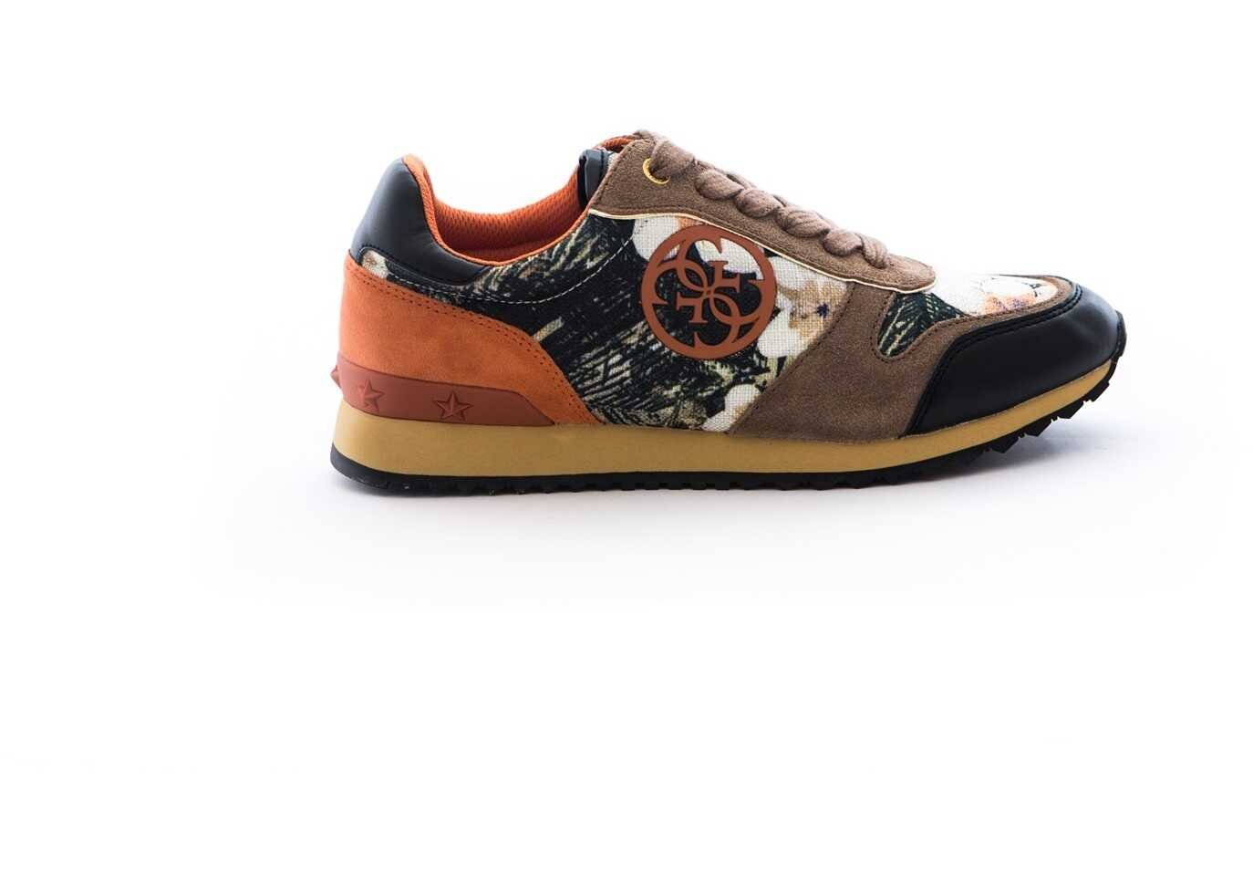 Pantofi Sport Femei Guess Cate Active Lady Leather