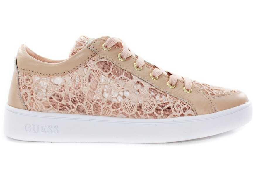 Pantofi Sport Femei Guess Lace Active Różowy