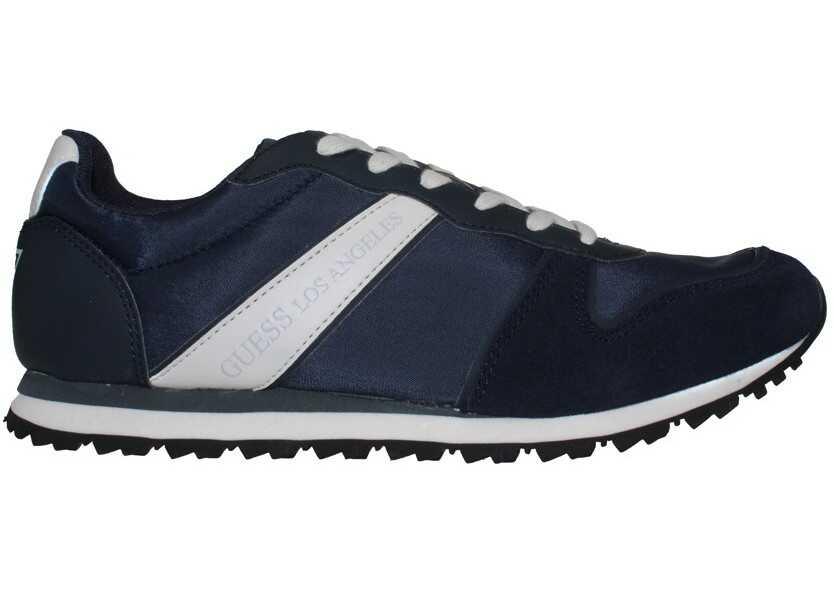 Pantofi Sport Barbati Guess Justin Fabric Active Granatowy