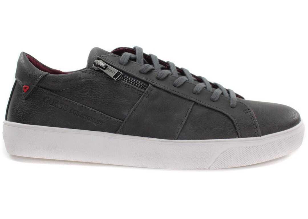 Pantofi Sport Barbati Guess Eco Leather Act Fmknl1ele12aspha Szary