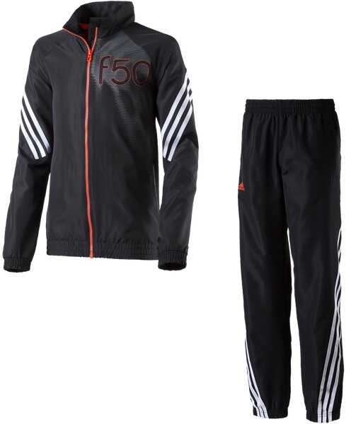 adidas Dres Młodzieżowy YB F50 WV TS Czarny, szary, pomarańczowy