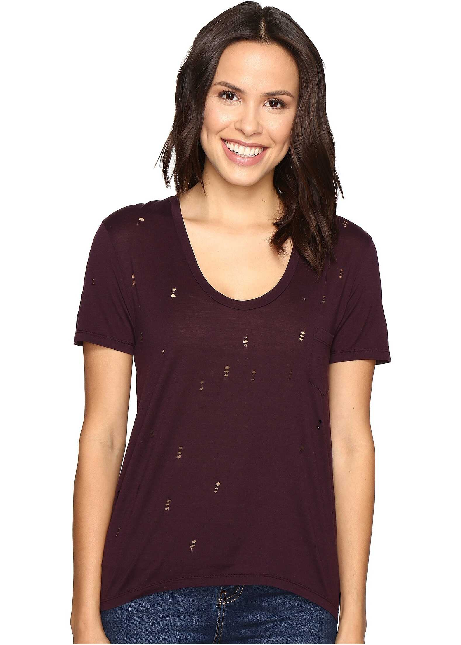 Joes Jeans Gilles Tee Deep Orchid