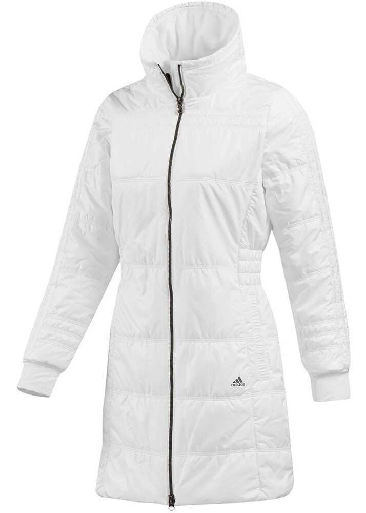 Geaca Femei Adidas Płaszcz Damski 3s Biały