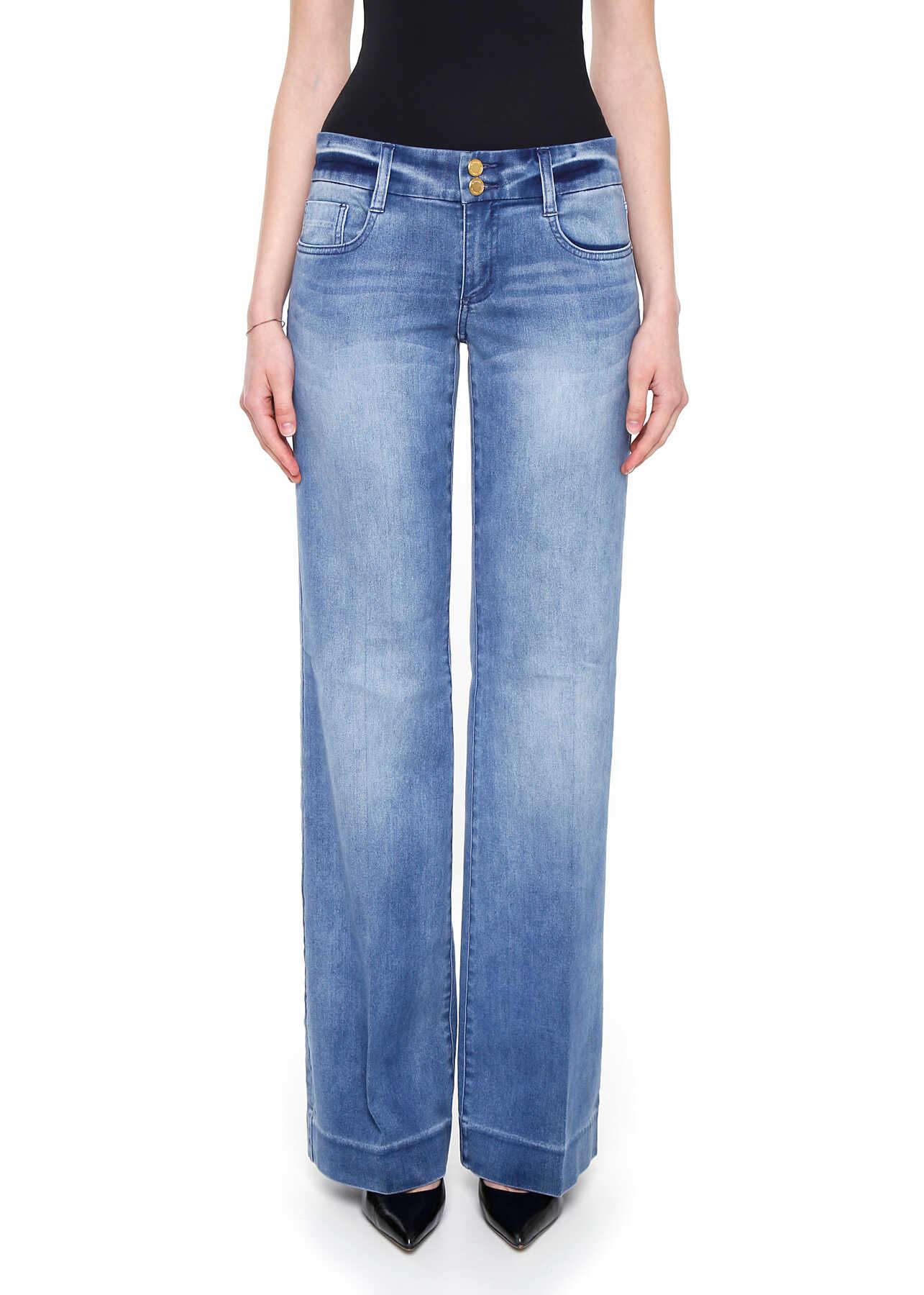 Blugi Femei Michael Kors Flare Jeans Five Pockets