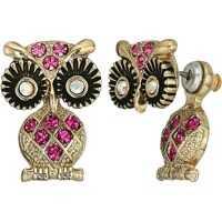 Cercei Owl Ear Jacket Earrings Femei