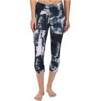 Pantaloni Take a Chance Printed Capri Sporturi
