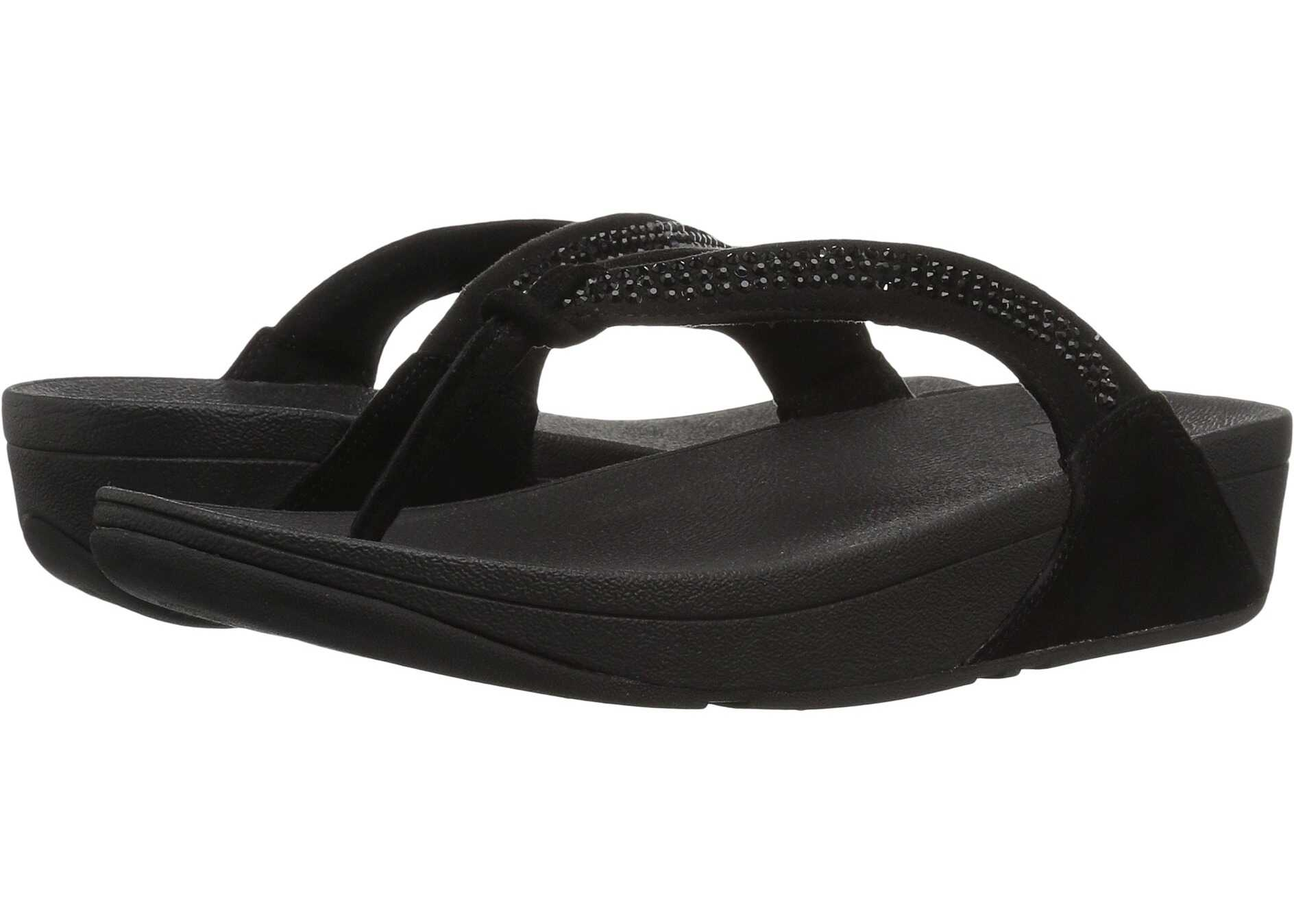 FitFlop Crystal Swirl All Black