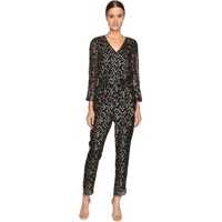 Salopete Metallic Clipped Dot Jumpsuit* Femei