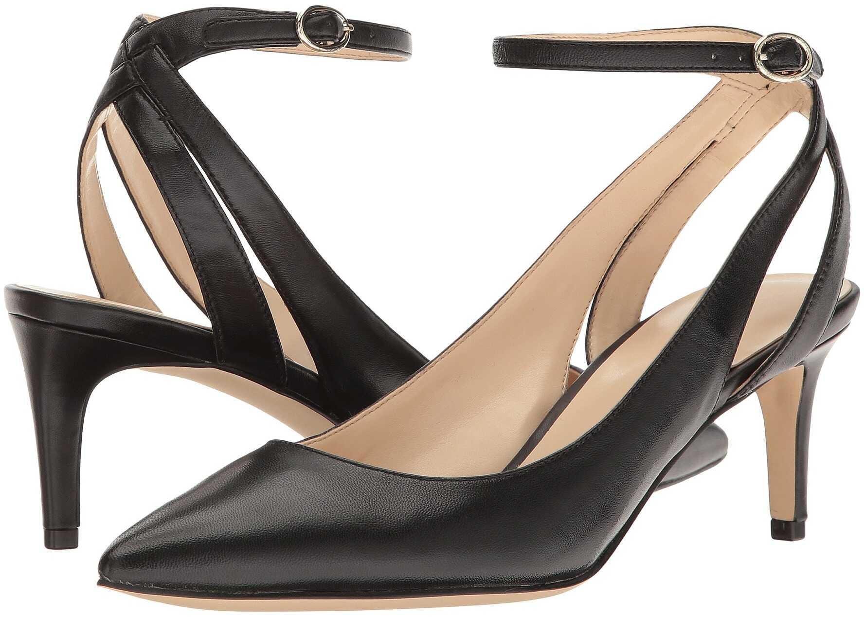 Pantofi Cu Toc Nine West Shawn Black Leather