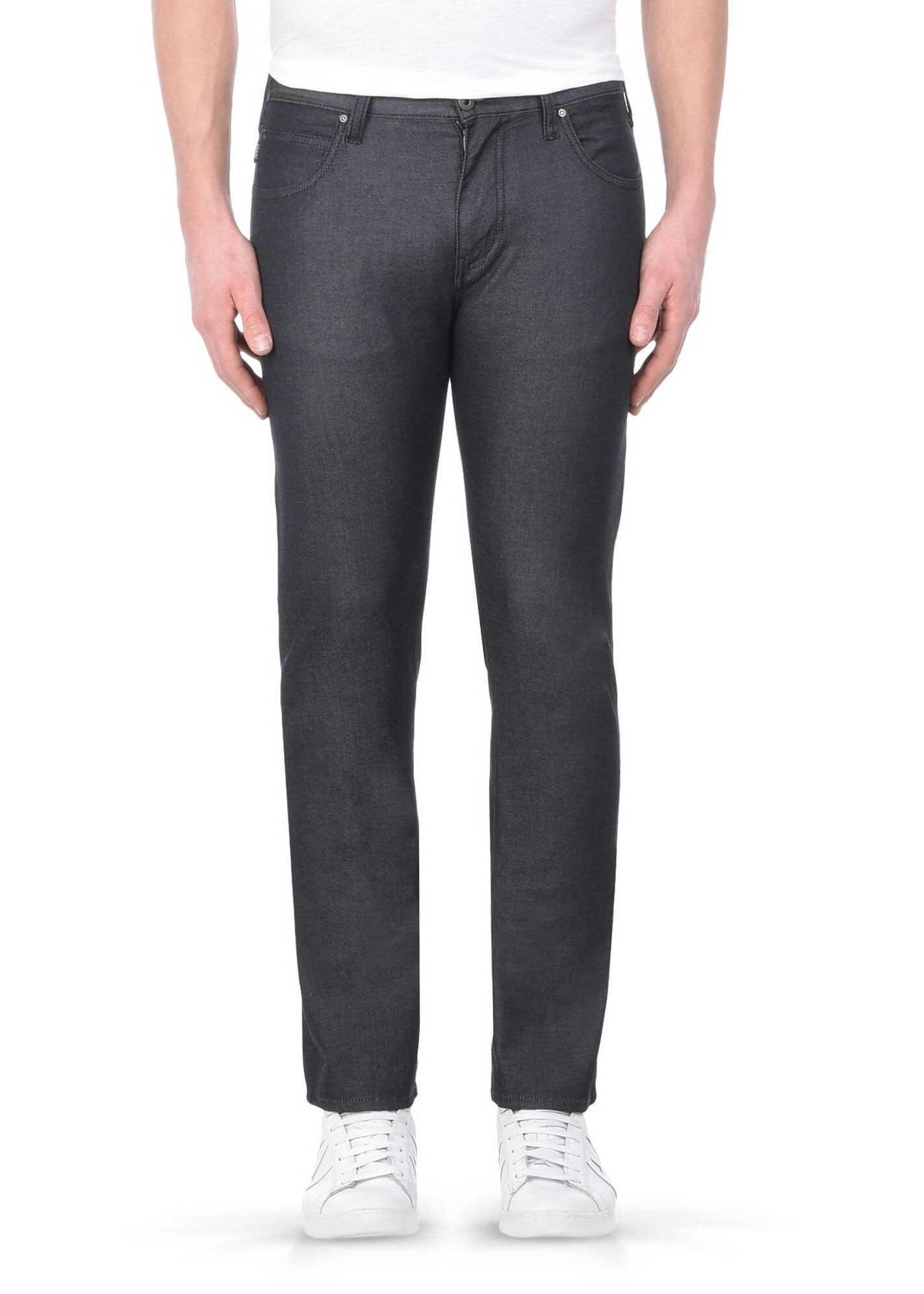 Blugi Barbati Armani Jeans 1ae82891 Black