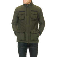 Geci Men's Jacket In Green Color Barbati