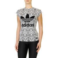 Tricouri Adidas Originals Originals Women's White T Shirt