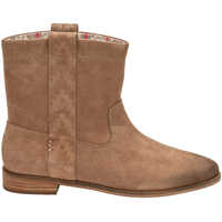 Ghete & Cizme Amphora Burnished Suede Laurel Boots In Taupe Femei