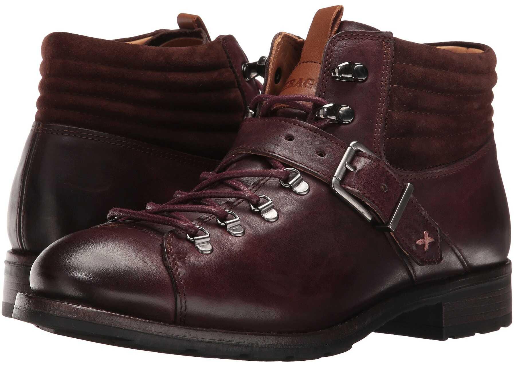 Sebago Laney Hiker Burgundy Leather