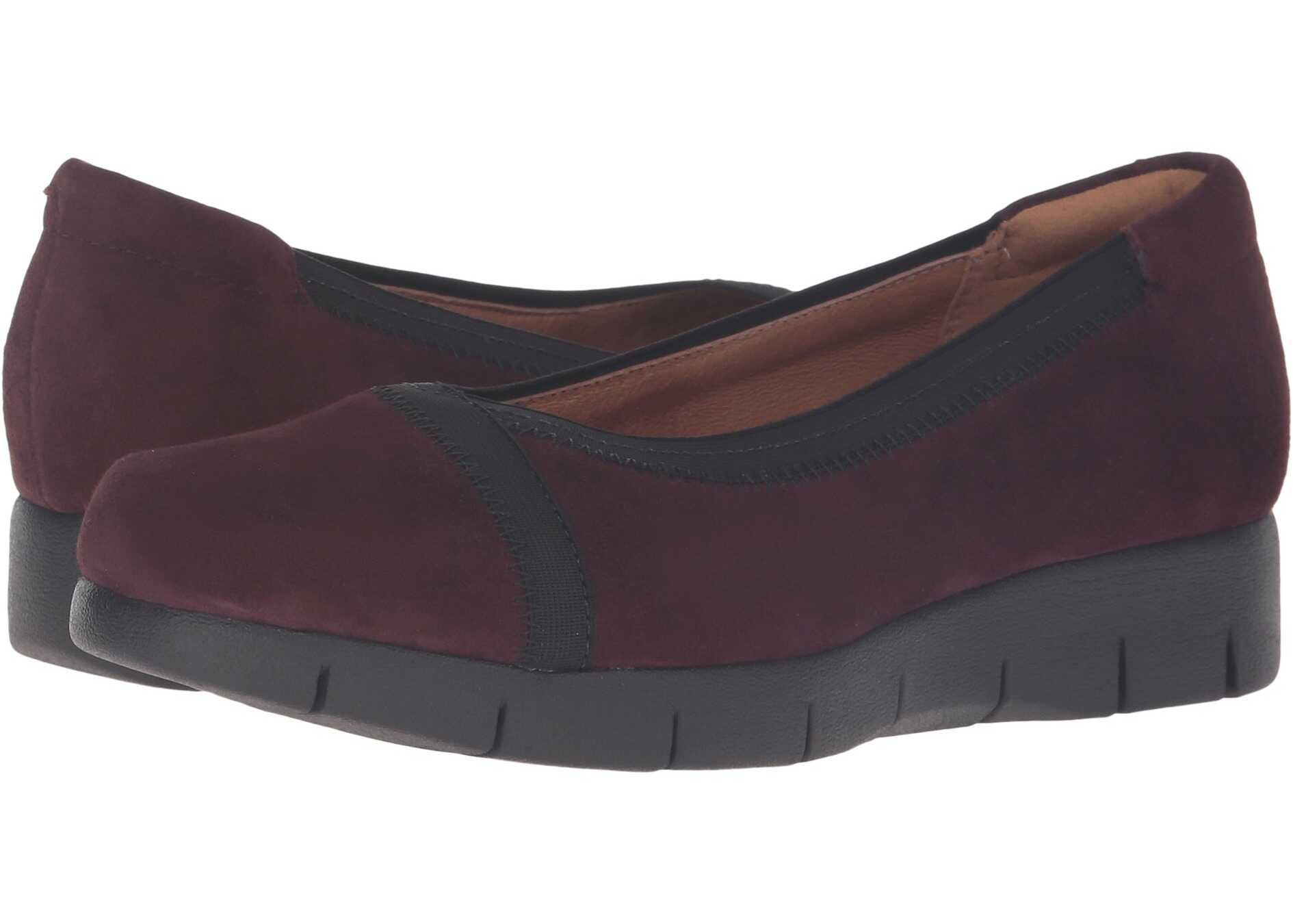 Clarks Daelyn Hill Aubergine Suede