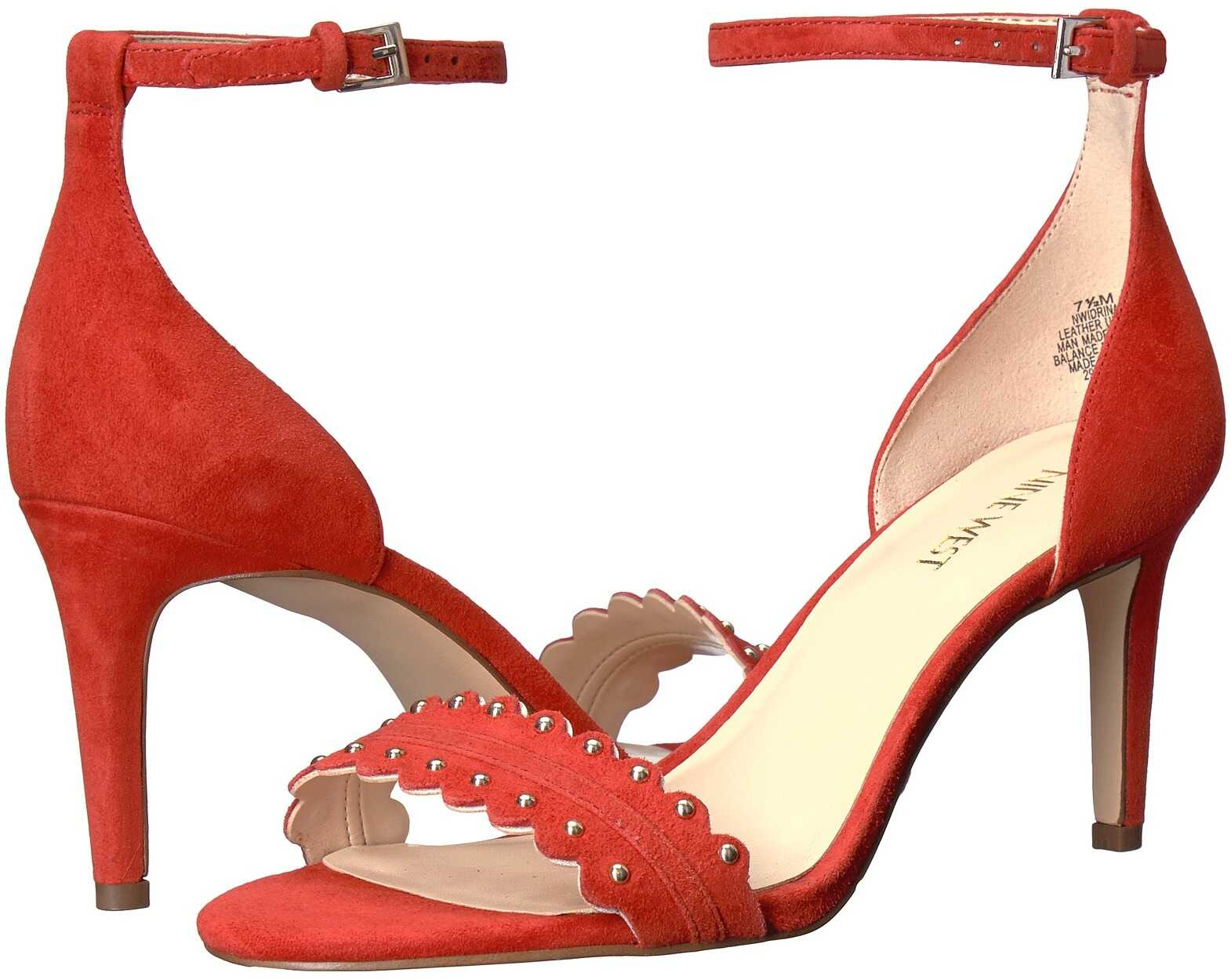 Sandale Femei Nine West Idrina Red Suede