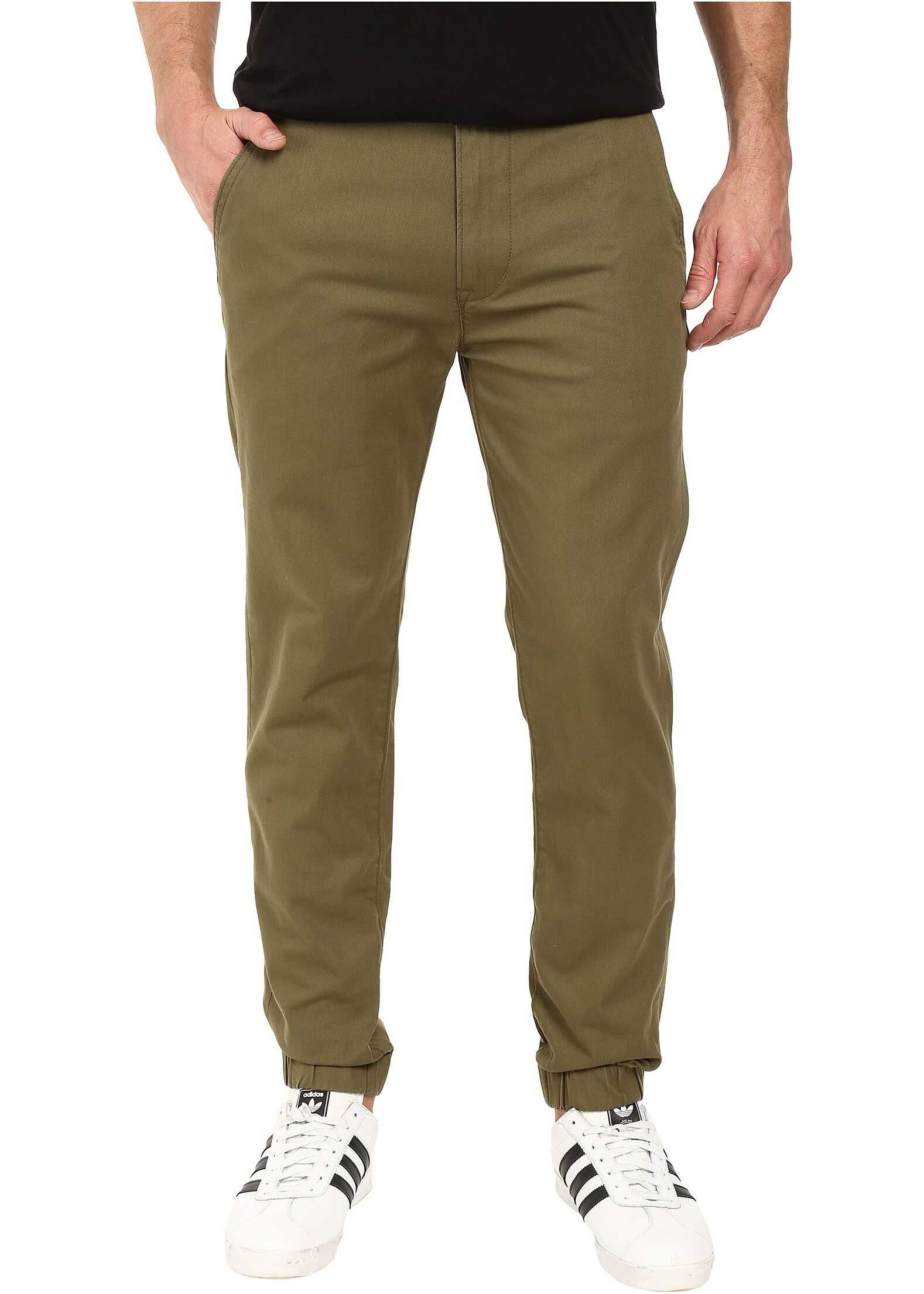 Levi's® Mens Chino Jogger - Self Cuff* Burnt Olive