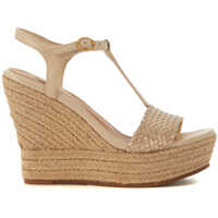 Sandale Fitchie Golden Leather Wedge Sandal Femei