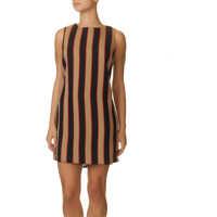 Rochii Women's Striped Dress Femei