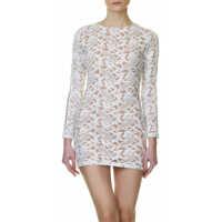 Rochii Woman's Dress In Cream Color Femei