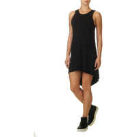 Rochii Emily Drape Back Tank Women's Black Dress Femei