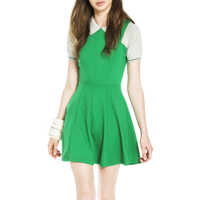 Rochii Lindsay Green Sleeveless Dress Femei