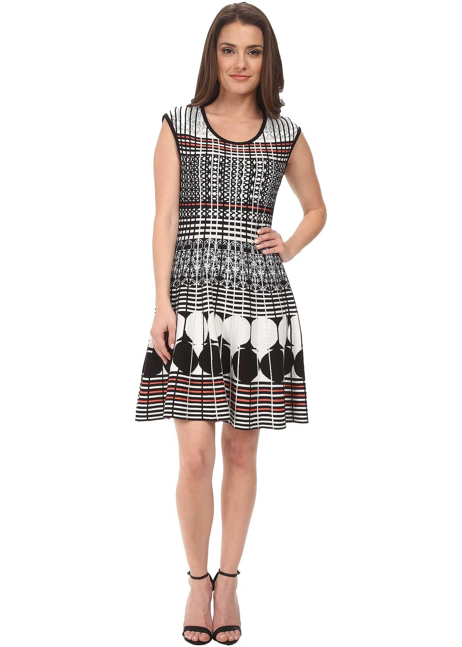 NIC+ZOE Petite Circle Punch Twirl Dress* Multi