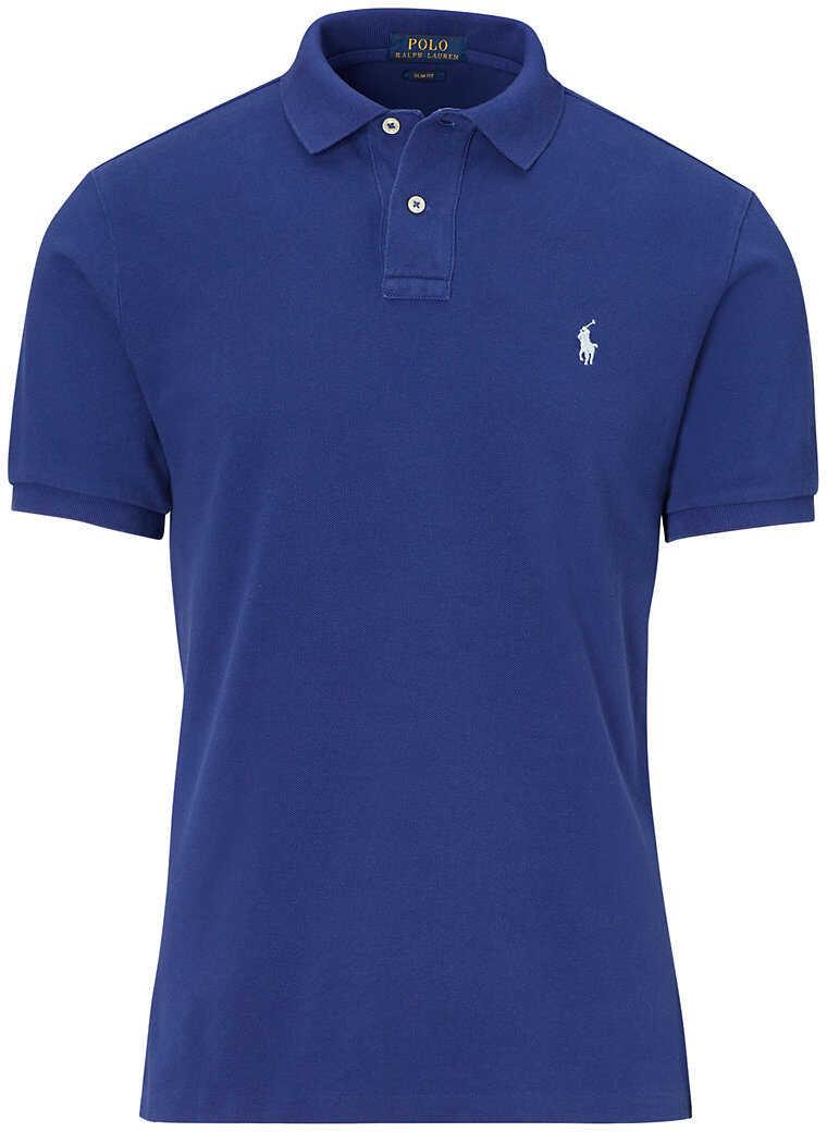 Ralph Lauren Classic Fit Mesh Polo Shirt* Yale Blue