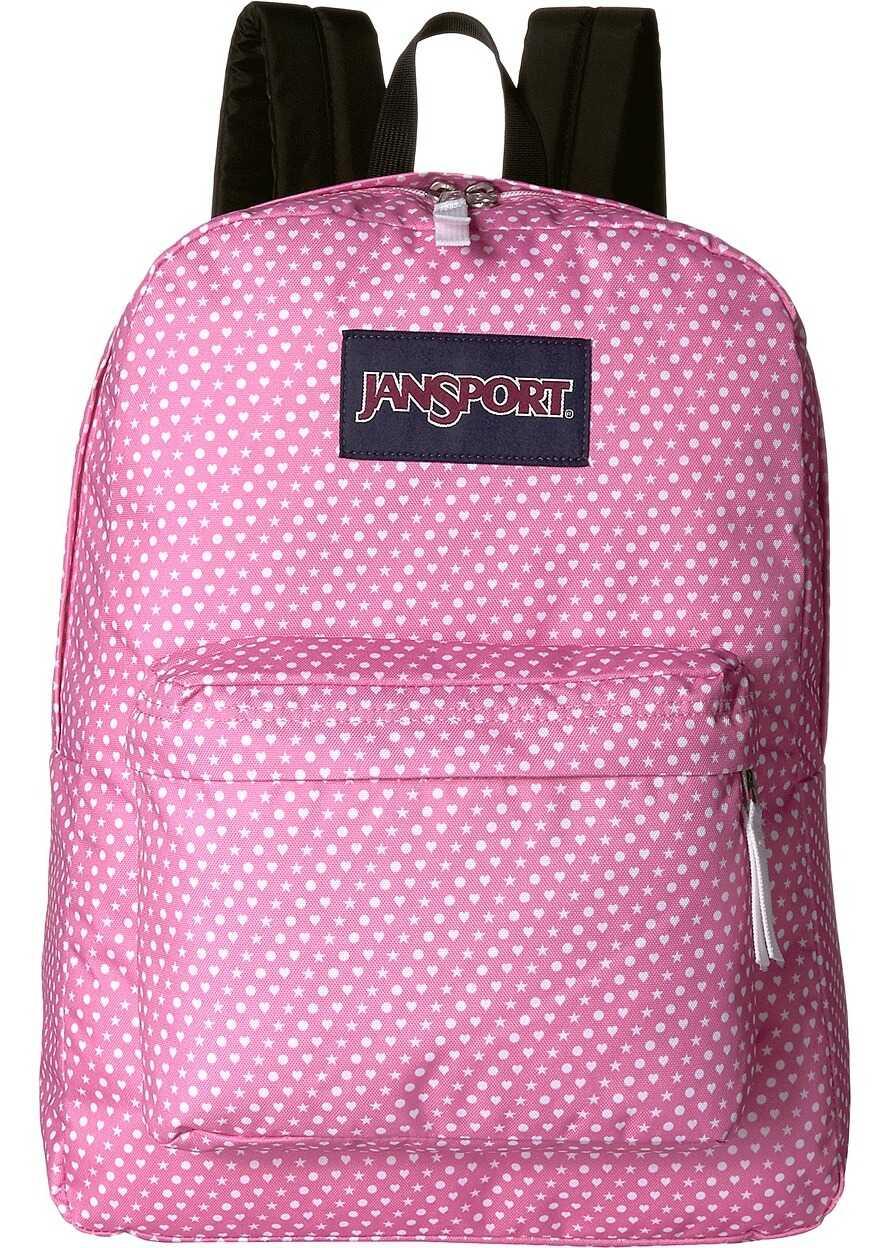 JanSport SuperBreak® Prism Pink Icons Print