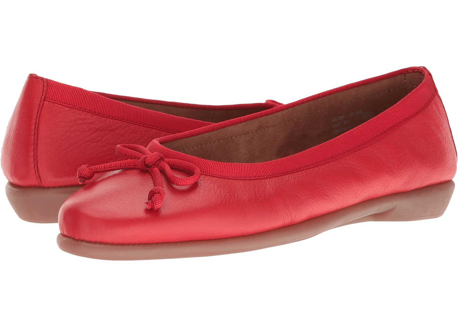 Aerosoles Fast Bet Red Leather