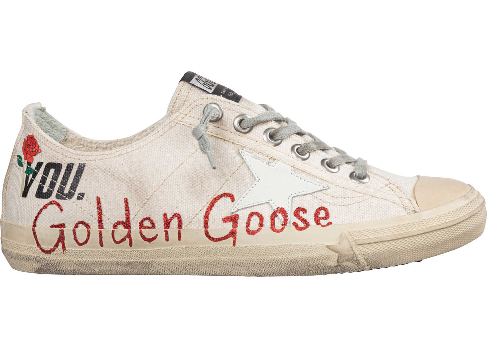 Golden Goose Shoes Trainers Sneakers V-Star 2 White