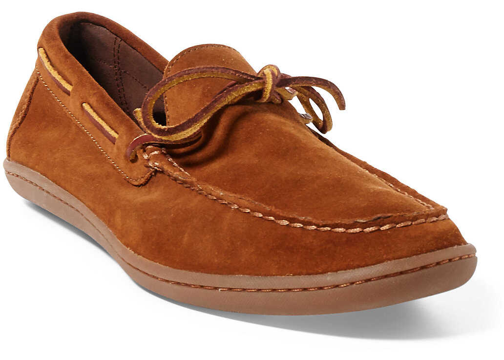 Ralph Lauren Kalworth Suede Moccasin* New Snuff