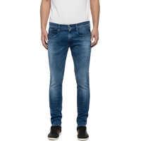 Blugi Hyperflex Men's Slim Jeans In Blue Color Barbati