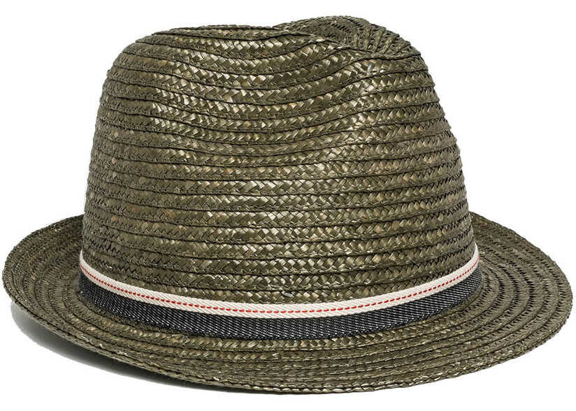 Replay Unisex Grey Straw Hat Lt Ivori Grey
