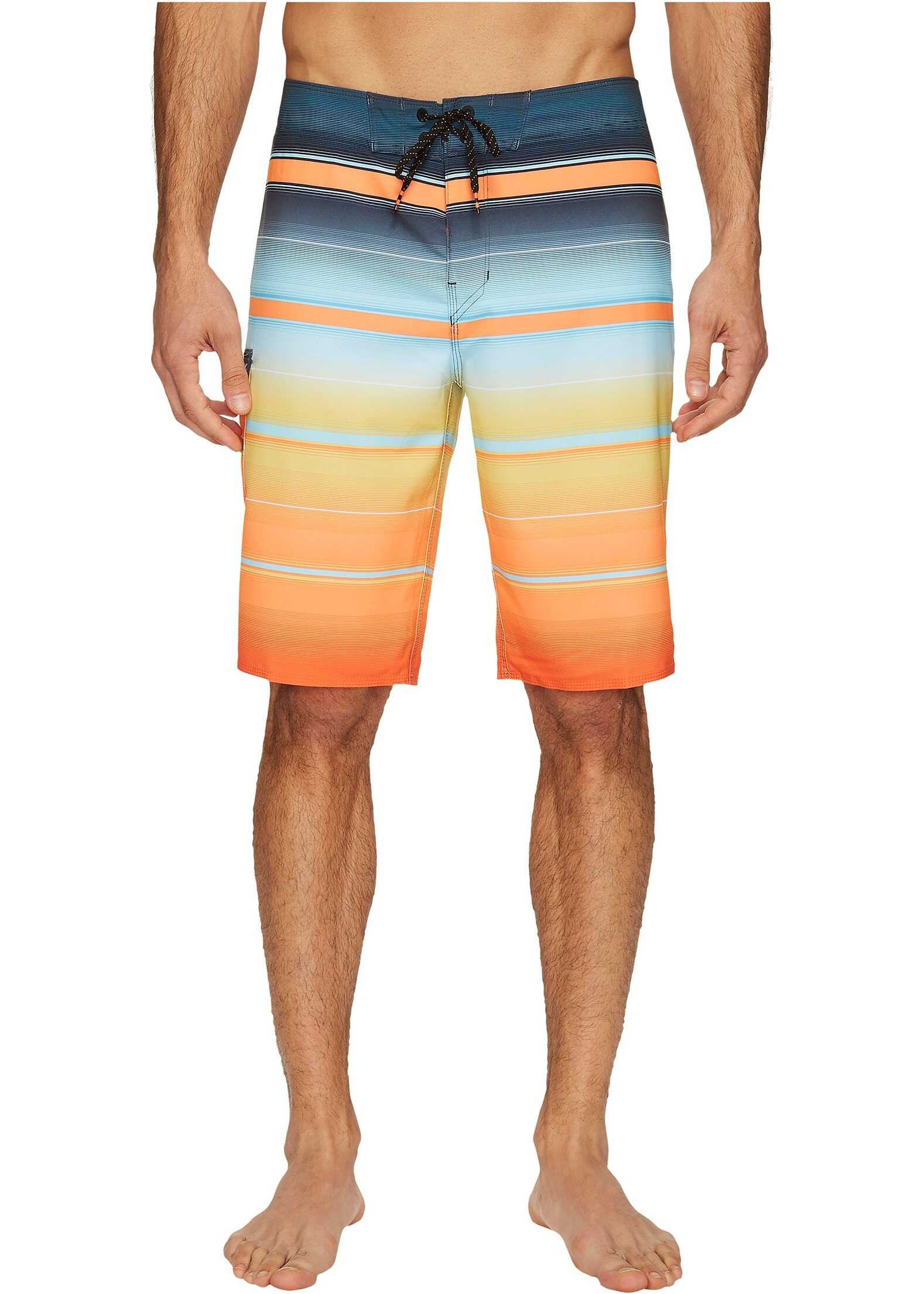 Billabong All Day X Stripe Boardshorts Tang