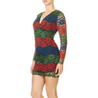 Rochii Women's Red Crochet Dress Femei