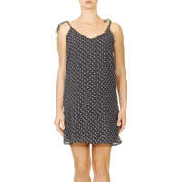 Rochii Polka Dot Women's Dress In Black Color Femei