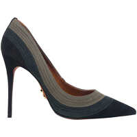 Pantofi cu Toc Darla Women's Leathe Grey Pumps Femei