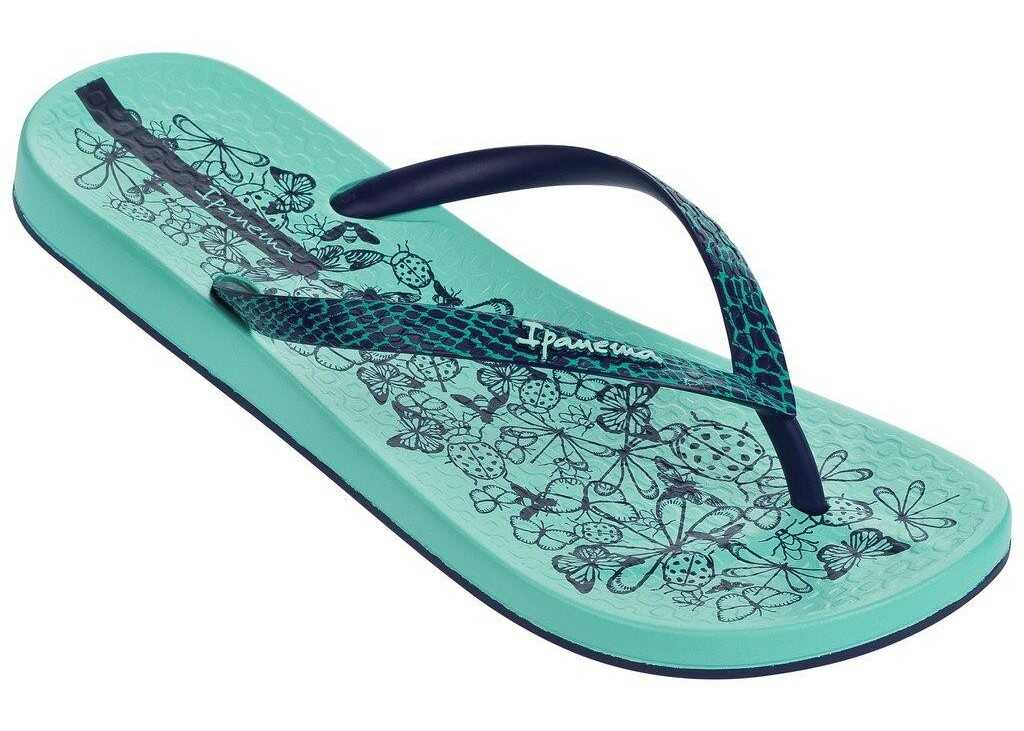 Slapi Femei Ipanema Anat Nature Fem Green/blue Zielony