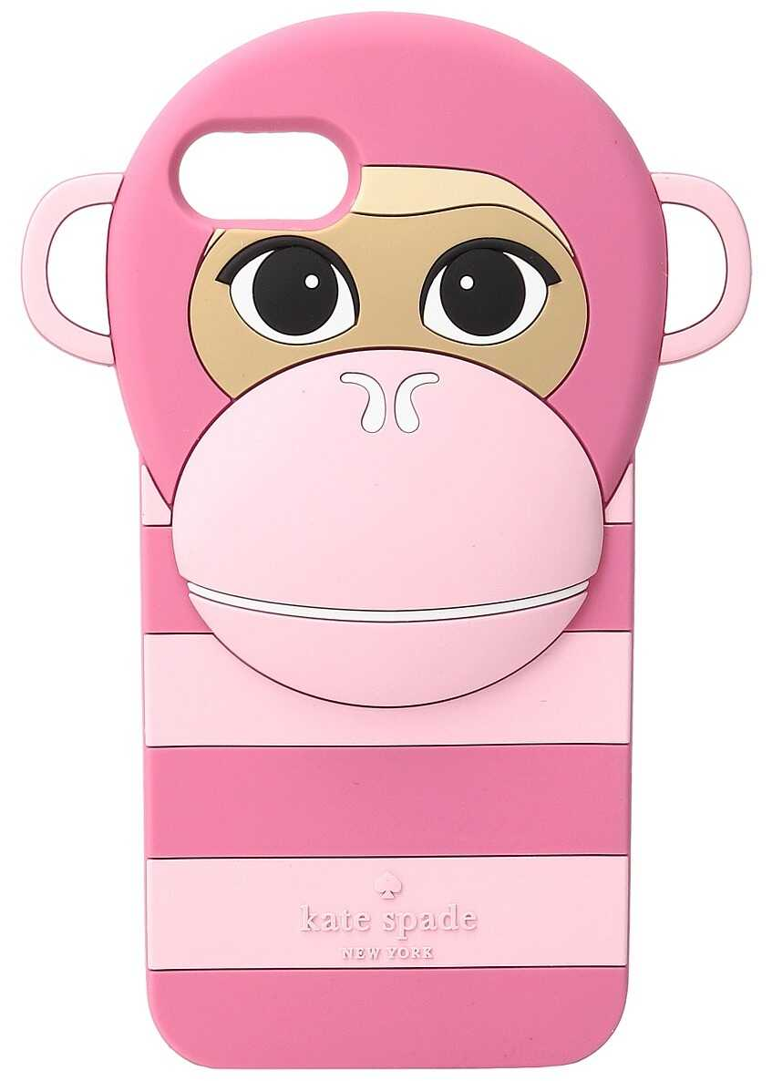 Kate Spade New York Silicone Monkey Phone Case for iPhone® 7 Pink Multi