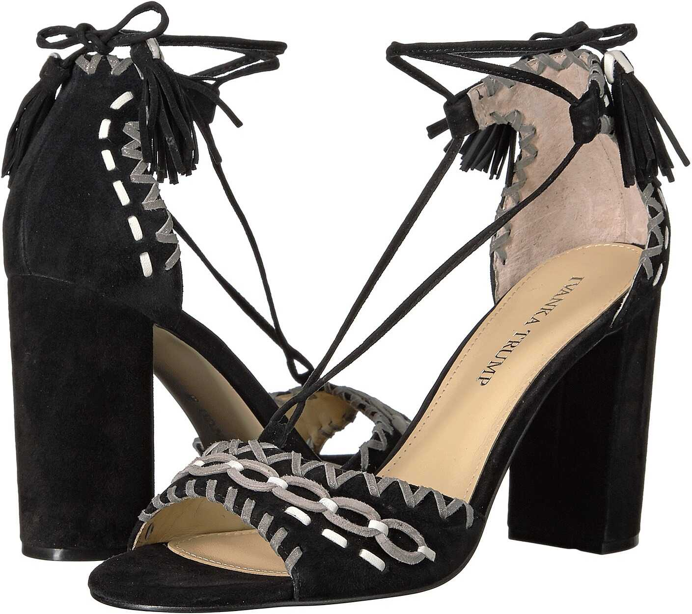 Ivanka Trump Karita Black Multi FH Leather Suede/Fez Nappa/Capria