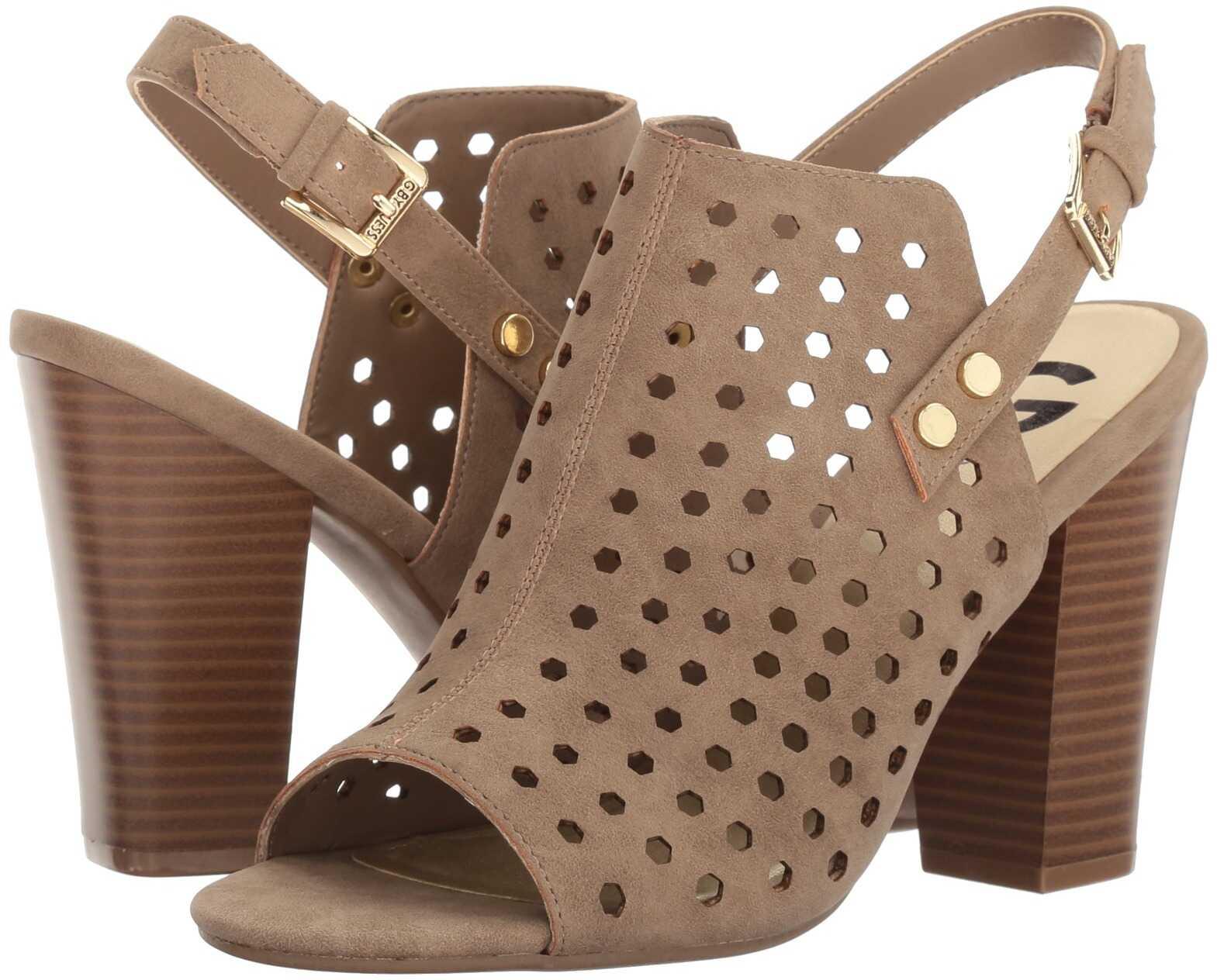 Pantofi Cu Toc G By Guess Jrake Sahara Sand Distre