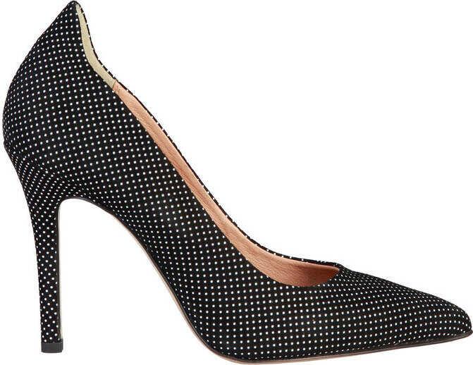 Pantofi Cu Toc Pierre Cardin Lucile Black