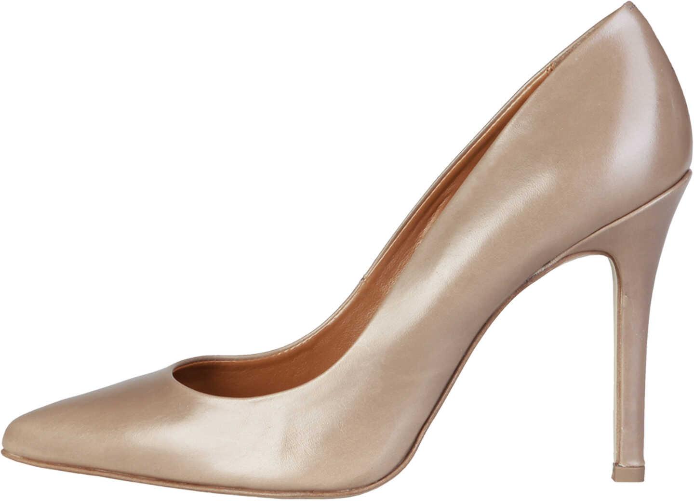 Pantofi Cu Toc Pierre Cardin Mathilde Brown
