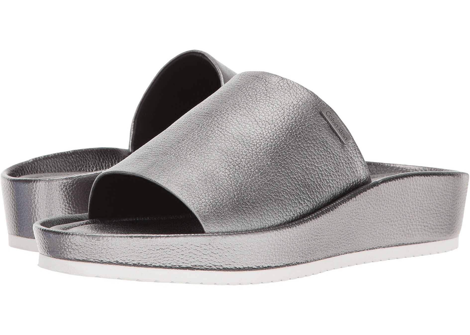 Calvin Klein Hope Alloy Metallic Leather