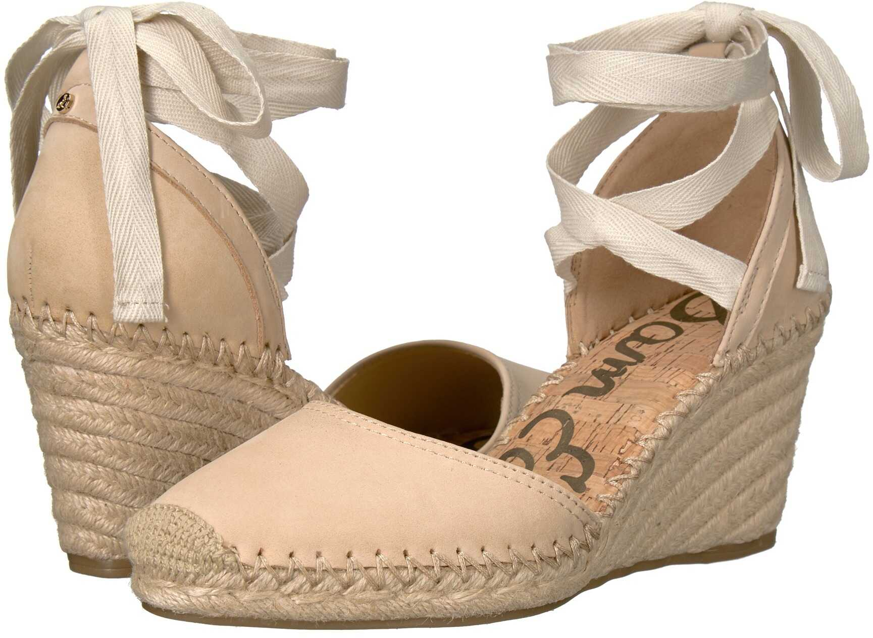 Sam Edelman Patsy Summer Sand Jabuck Nubuck Leather