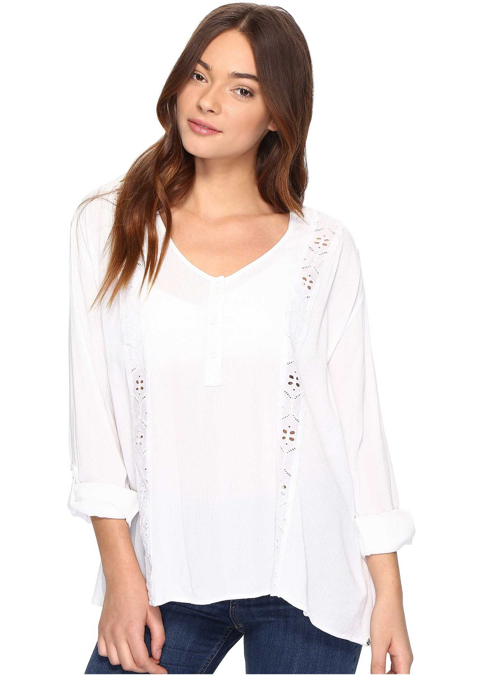 Volcom Sunset Path Top White