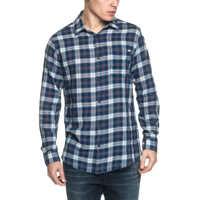 Camasi Granby Men's Blue Plaid Shirt Barbati